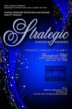 Strategic Partner Awards 2011 Invitation