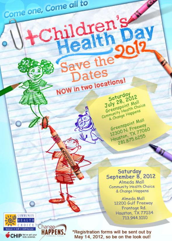 Children's Health Day 2012