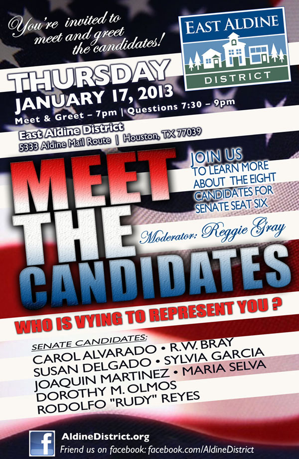 meet the candidates 2013