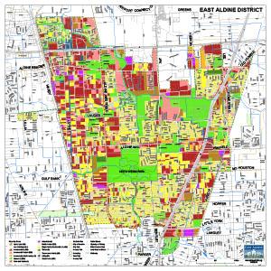 District Map – East Aldine Management District