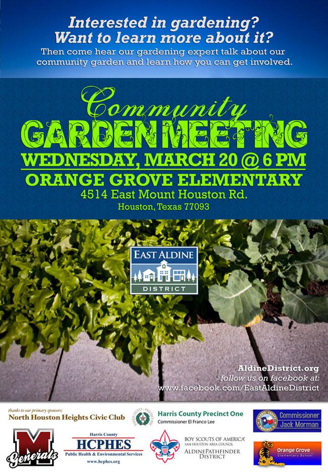 Garden Meeting