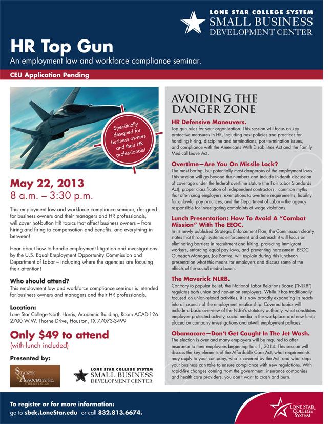 HR Top Gun Seminar