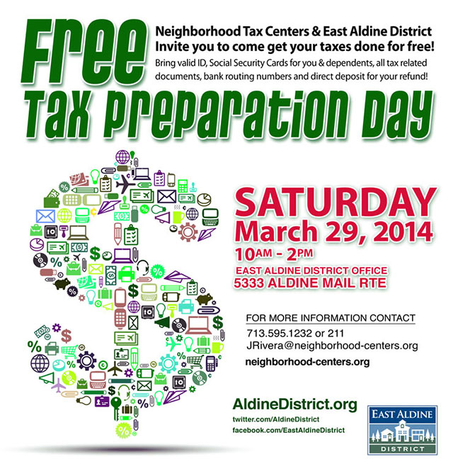eamd 2014 tax preparation day