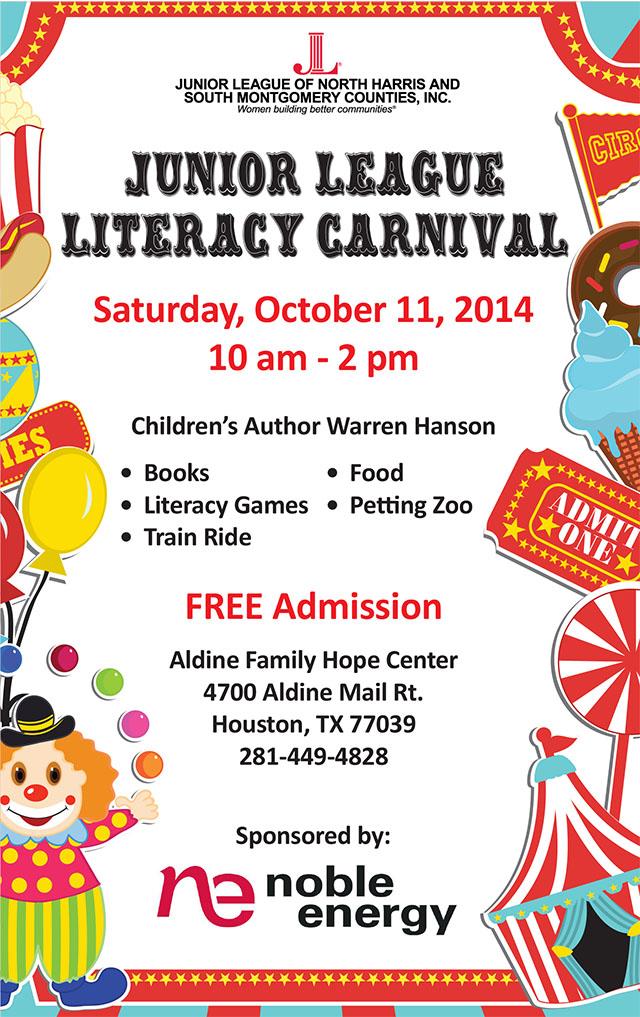 Literacy Carnivall Invitation - English and Spanish-1