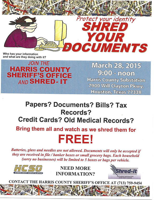 Keeping Your Identity Safe. Residential Document Shredding service is a key component in safeguarding your identity and protecting your personal information from falling into the wrong time2one.tkal shredders can help you shred one piece of mail at a time, but when you have a large volume of paper to shred, there are other alternatives!Wouldn't you like the security and convenience .