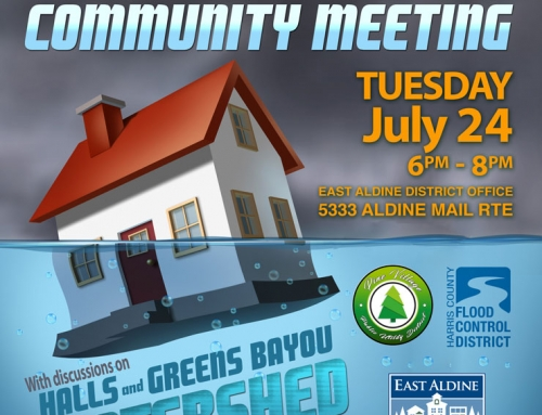 Flood Bonds Community Meeting, July 24