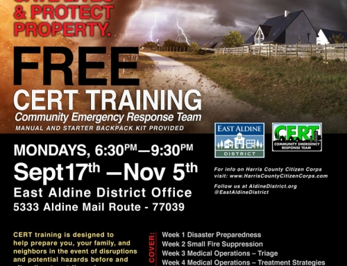 Free CERT Training, Sept. 17-Nov. 5