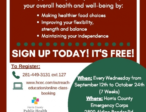Chronic Disease Self-Management Workshop