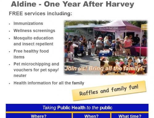 Reminder: HCPH Mobile Health Village Event, Sept. 22