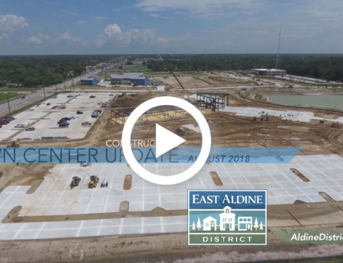 Video: East Aldine Town Center Construction