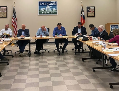 East Aldine District held their monthly board meeting Oct. 16