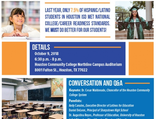 Our Students: Nuestro Futuro, Oct. 9