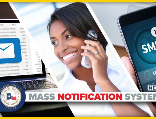 Harris County Selects New Mass Notification System Provider