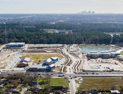 East Aldine progress report on the Town Center development