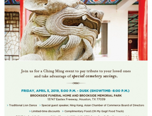 Ching Ming Event: In remembrance and celebration of our ancestors