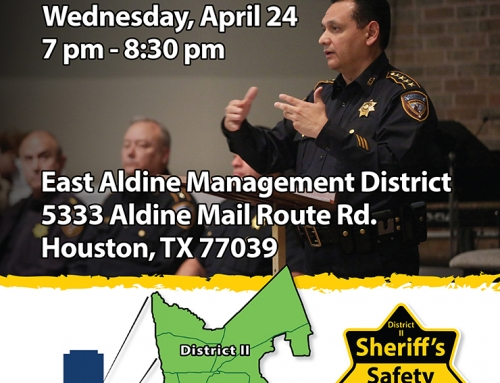 Sheriff's Safety Forum, April 24