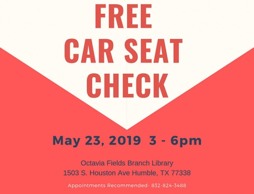 Free Car Seat Check, May 23