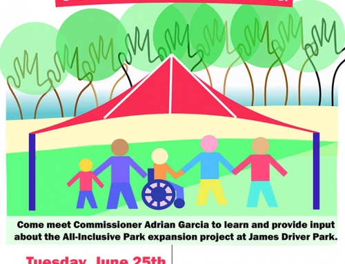 Community Meeting: Park Expansion Project James Driver Park, June 25
