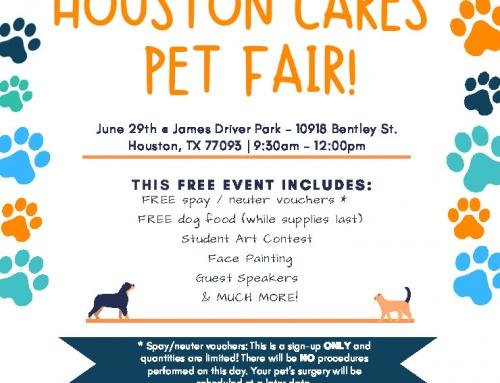 Houston Cares Pet Fair! June 29