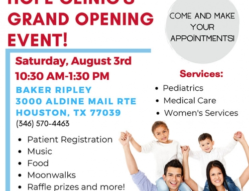 Hope Clinic's Grand Opening Event, Aug. 3