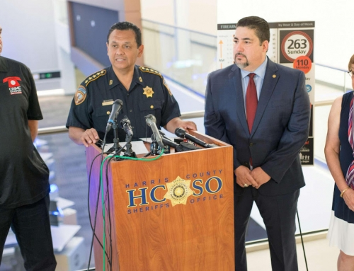 Photos and Presentation of the Press Conference with Sheriff Ed Gonzalez