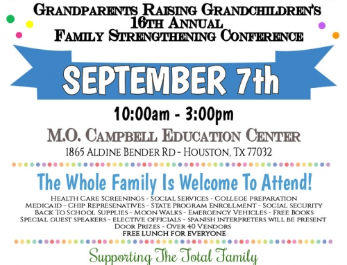 16th Annual Family Strengthening Conference set for Sept. 7
