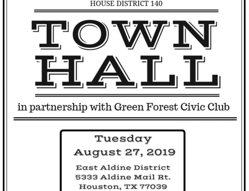 State Rep. Armando L. Walle: Town Hall, Aug. 27