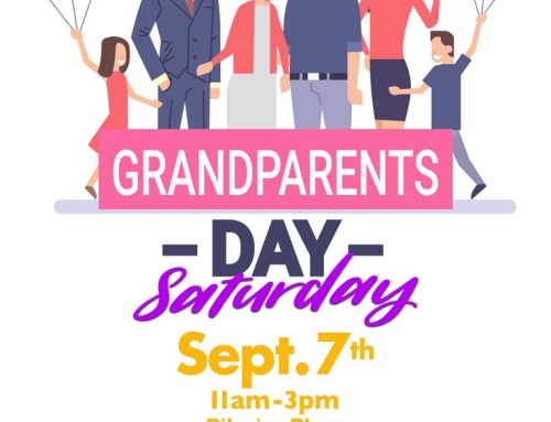 Celebrate Grandparents Day With Us, Sept. 7