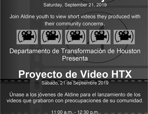 HTX Video Project, Sept. 21