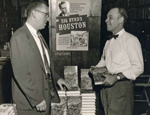 Sig Byrd, the Houston Novelist
