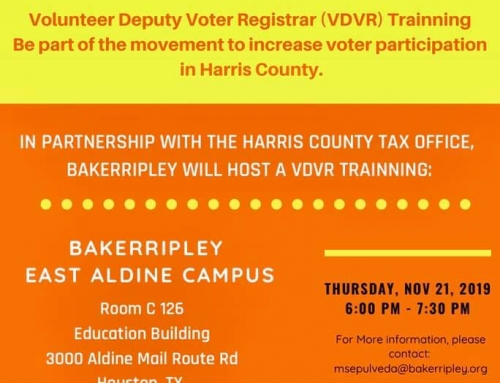 BakerRipley: Voter Engagement, Nov. 21