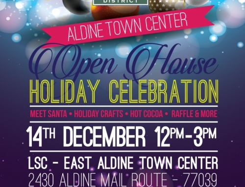 Aldine Town Center Open House Holiday Celebration, Dec. 14