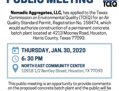 TCEQ Public Meeting