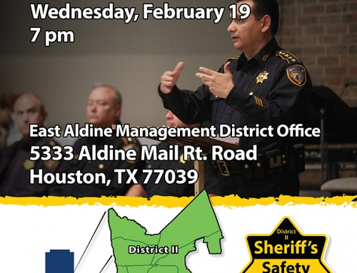 Sheriff's Safety Forum, Feb. 19
