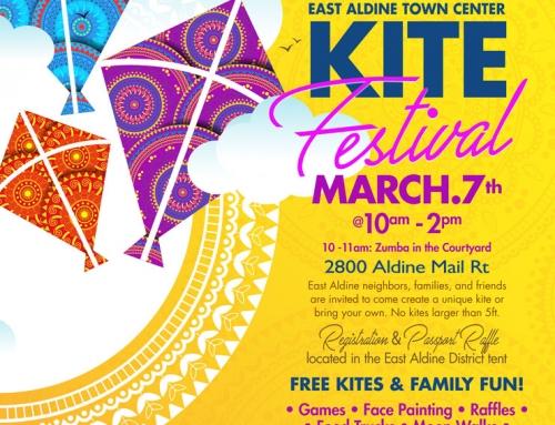 East Aldine Town Center Kite Festival, March 7
