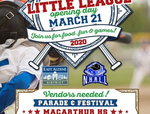 NHA Little League Opening Day: March 21