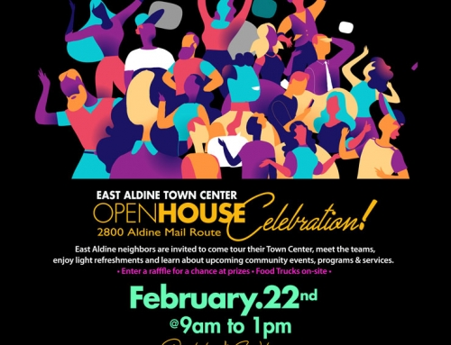 East Aldine Town Center Open House, Feb. 22
