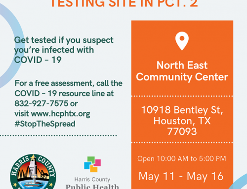 Free Harris County COVID-19 Testing Site in Pct. 2
