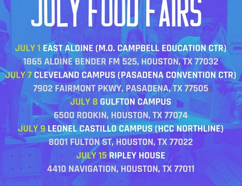 BakerRipley: Come join us for our July food fairs