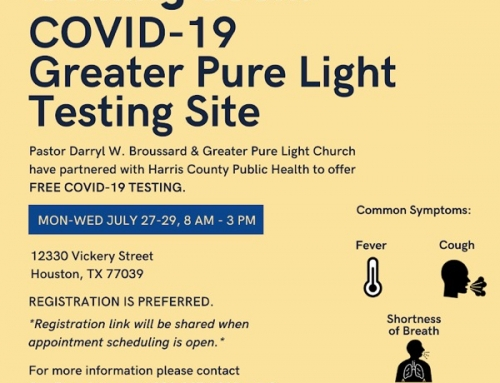 Coming Soon: COVID-19 Greater Pure Light Testing Site