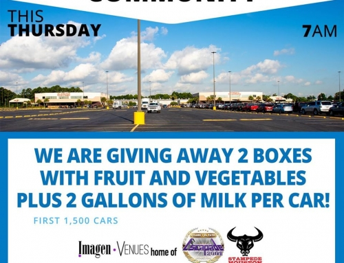 Community Food Giveaway at Stampede/Escapade, July 9