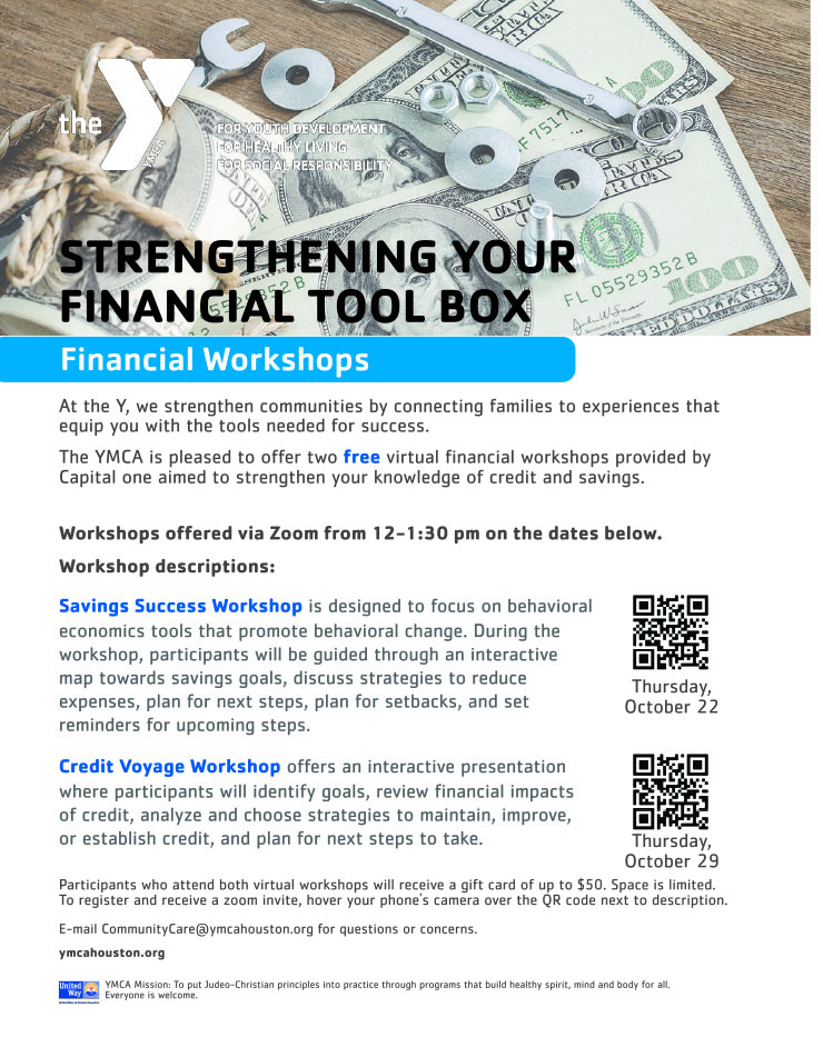 YMCA: Strengthening Your Financial Toolbox