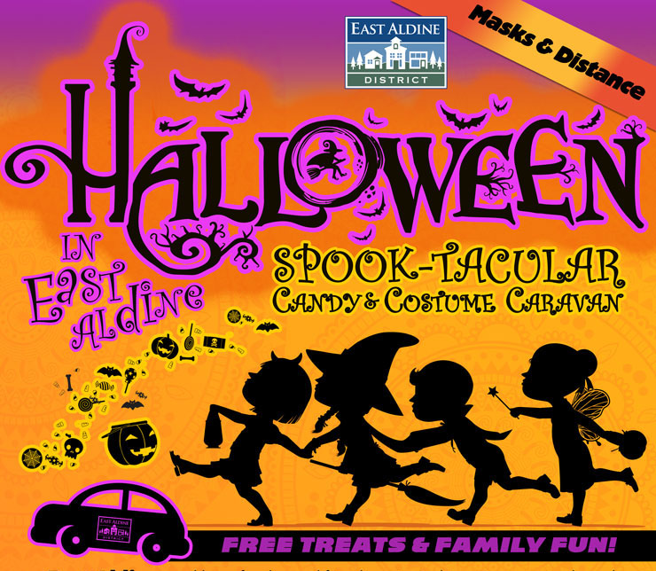 Halloween in East Aldine – Spook-tacular Candy Costume Caravan, Oct. 31