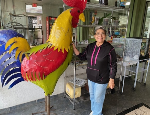 Fun takes flight at store for birds, other pets and their foods