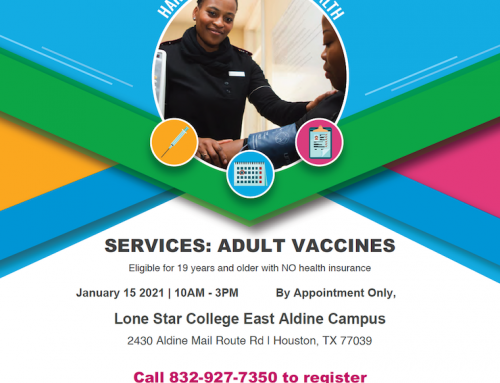 Free Immunization Event, Jan. 15