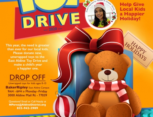 Toy Drive – Help Give Local Children a Happier Holiday!