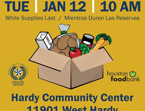 January 12 Food Distribution @ Hardy Senior Center