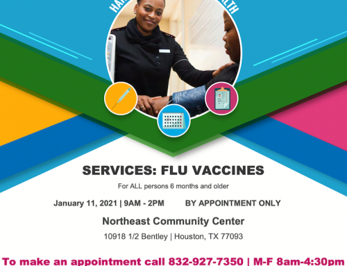 Free Flu Shots at Northeast Community Center, Jan. 11