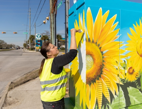 Dazzling street-level art brightens the District landscape