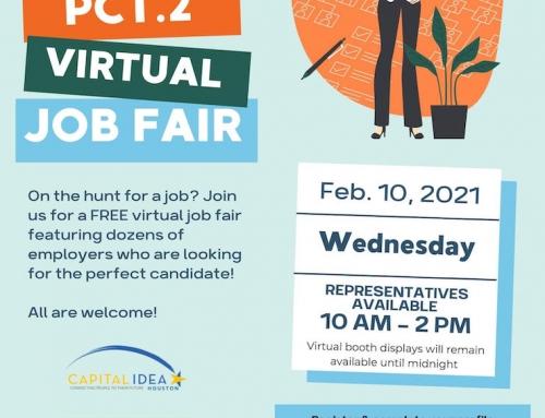 Precinct 2: Virtual Job Fair, Feb. 10